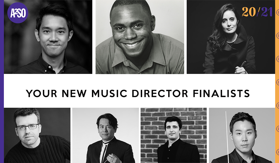 A2SO Announces Music Director Finalists and 92nd Season